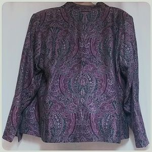 Covington Woman Jackets & Coats - Covington Woman Plus-Size Unconstructed Blazer 22W
